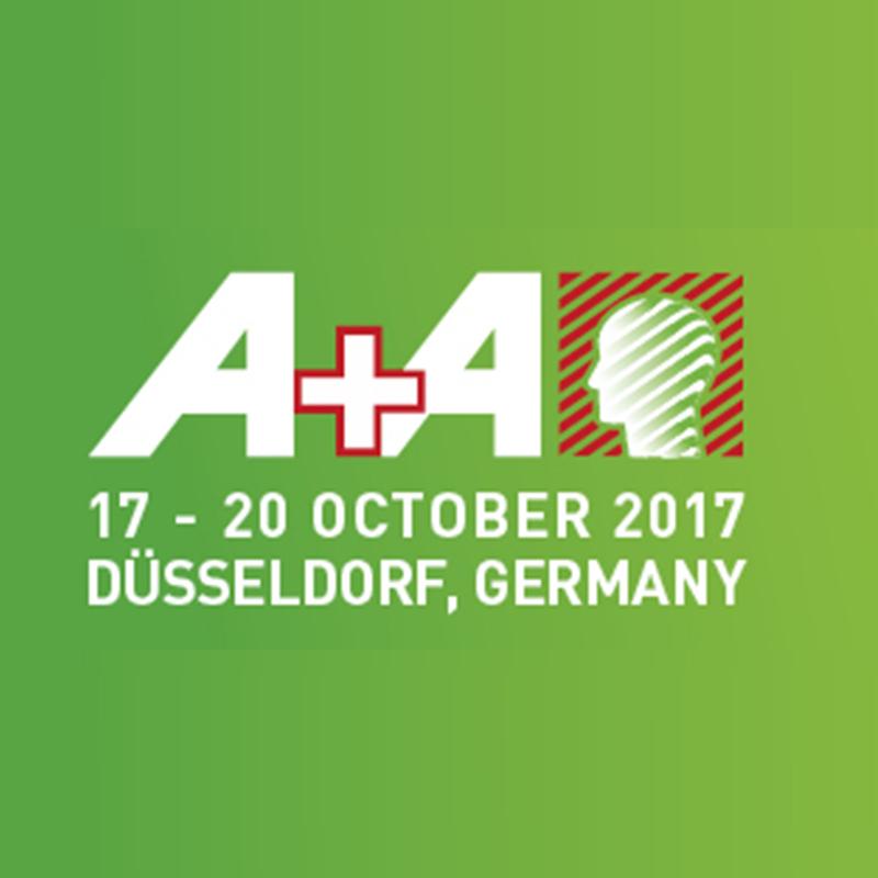 Fiera A+A Dusseldorf, 17-20 Ottobre 2017 - Padiglione 3 – Stand 3G95